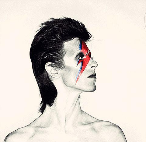 #Anos70 – Gifts animados com imagens dos anos 70 e história da moda na década - David Bowie