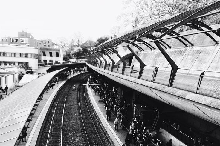 Calatrava train station in Zurich