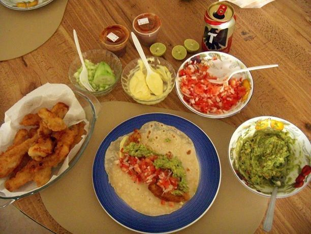 Fish tacos anyone find out how we make them here for California fish tacos