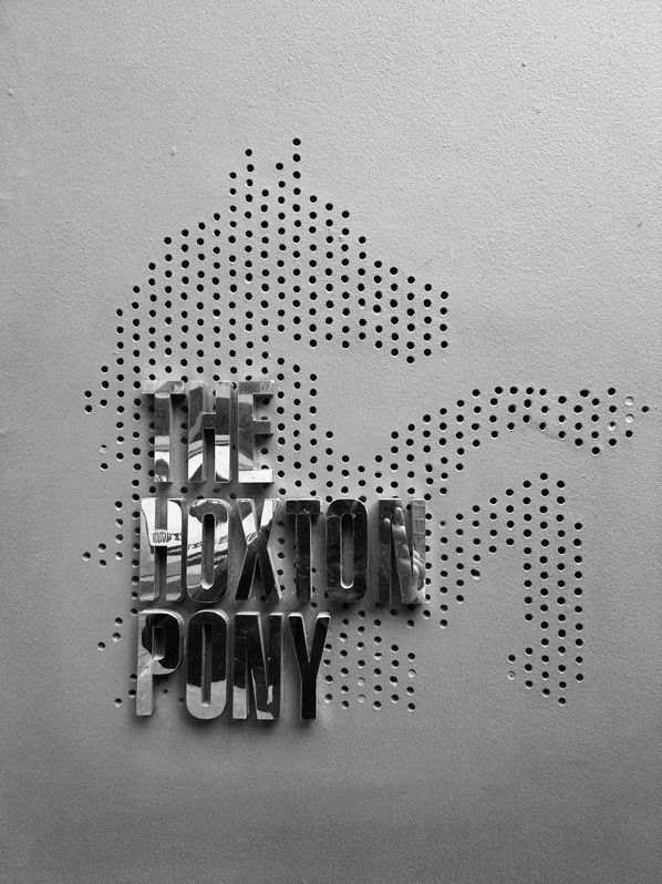 Signage // The Hoston Pony - London