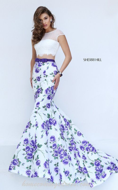 Prom Dresses with Print