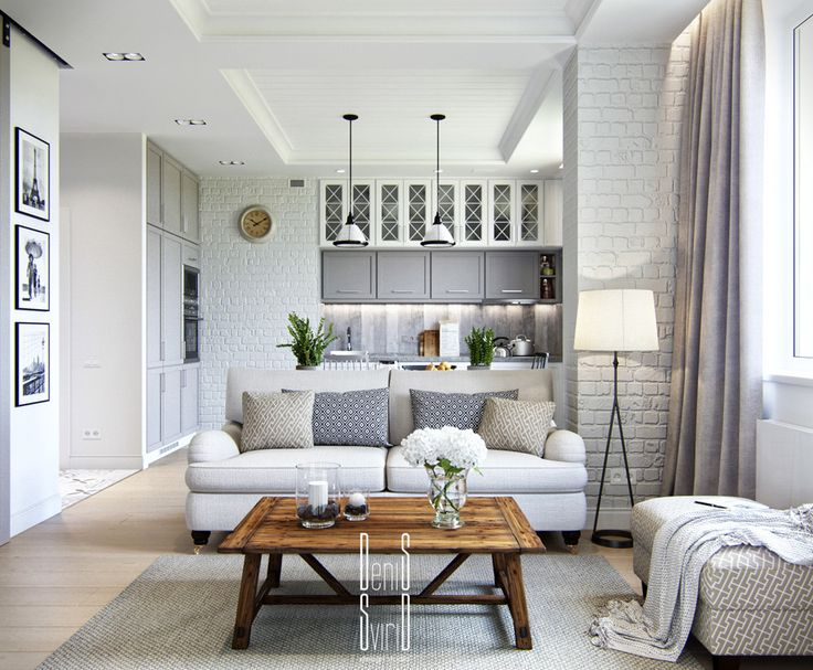 A small apartment in Provence style on Behance