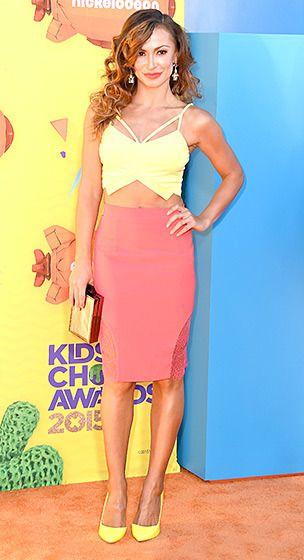 Karina Smirnoff 2015 Kids' Choice Awards
