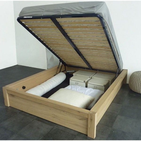 Lift up double bed super storage space amazing value - Lift up storage bed ...
