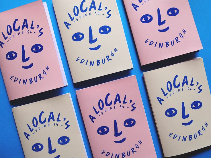 A local's guide to Edinburgh is a zine I created during my spare time filled with my favourite spots from around Edinburgh