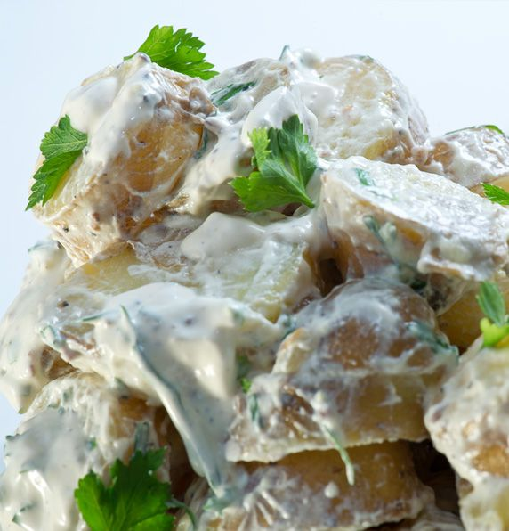 Next time you are looking for a dish for your #BBQ or potluck serve up a #potato #salad from Fresh Potatoes http://freshpotatoes.com.au/recipes/potato-salad
