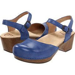 Saw a woman wearing these on the street today. Looked fun yet comfy, a heel without being crazy.