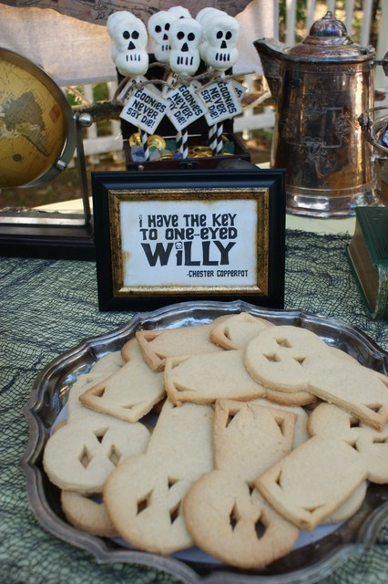 The Goonies Party One Eyed Willy Cookies! I think I want a Goonies Birthday party!