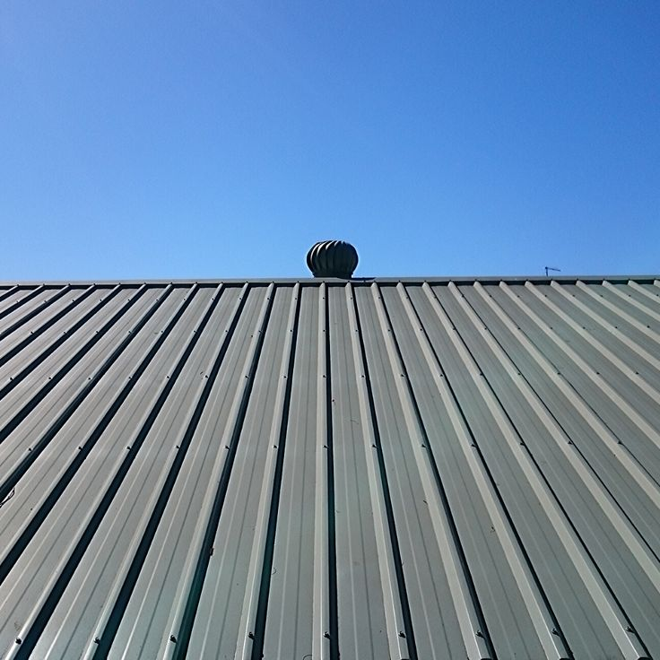 5V metal is a low profile metal panel that attaches