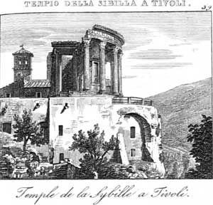 Tivoli rm il tempio della sibilla from nuova guida for Di giuseppe arredamenti roma