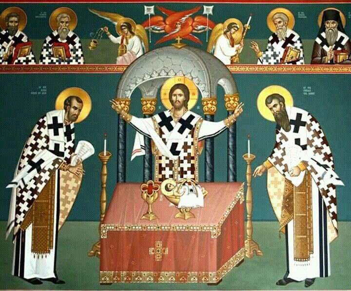 Marele Arhereu Ceresc Iisus Hristosicon orthodox
