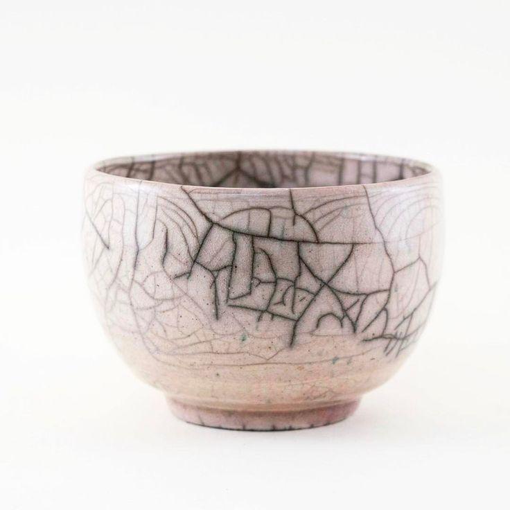 "itsyonobi:  ""There's a blue sky over Copenhagen and it's beginning to smell like spring. Like this beautiful raku ware bowl by @botyrrestrupdesign with just a hint of pink. #smellofspring #prettypink #ceramics #raku #rakuware #keramik #handmade #craft..."