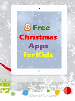 8 Free Christmas Apps for Kids #kidsapps #FreeApps