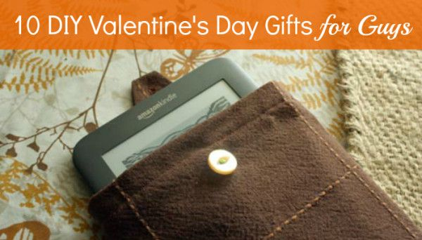 10 DIY Valentine's Day Gifts for Him