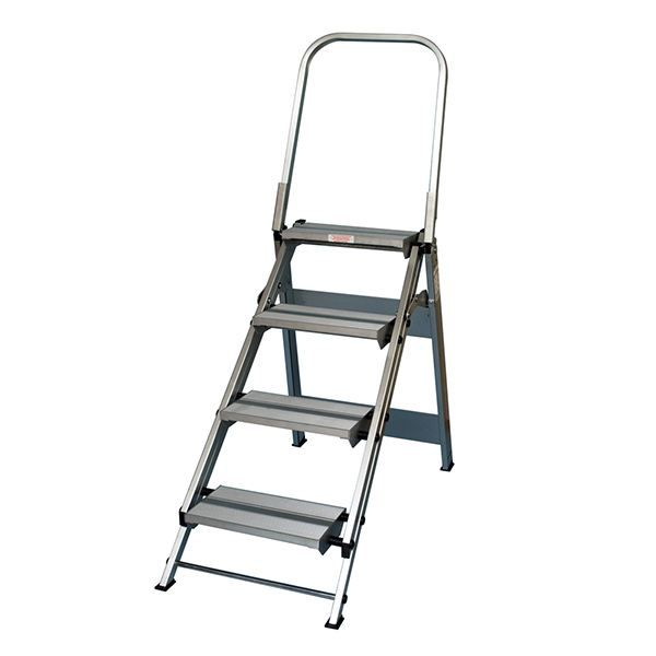 Stable Step Wt4 Step Stool Step Ladders Aluminium Ladder Step Stool