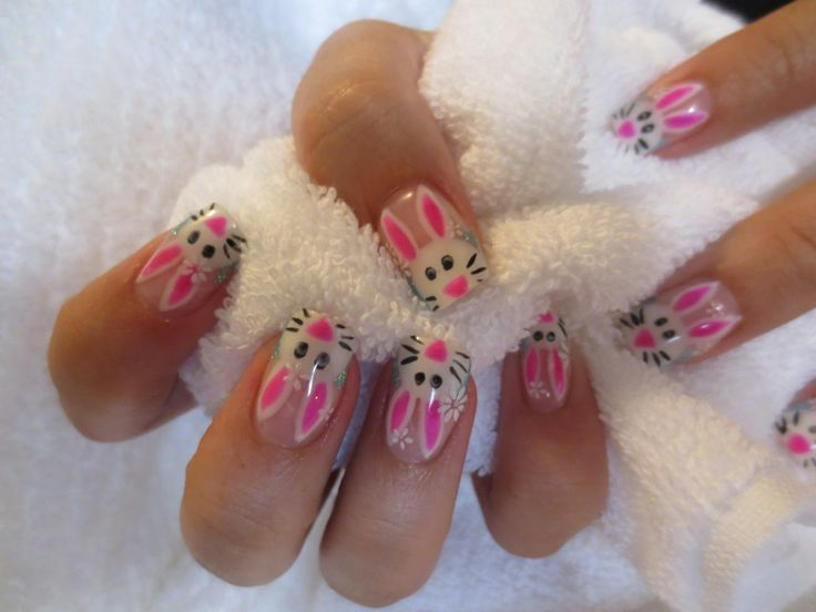 501 best 2014 easter nail art images on pinterest easter nail diy easter bunny nails easter nail ideas easter decoration ideas 2014 easter prinsesfo Choice Image