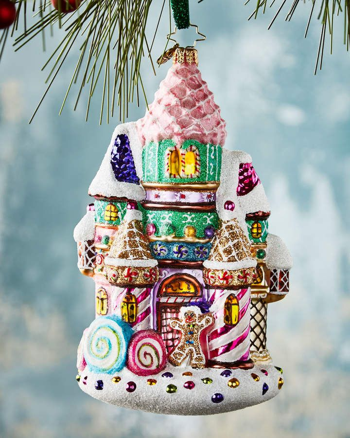 Christopher Radko Candy Castle Christmas Ornament - Christopher Radko Candy Castle Christmas Ornament Products