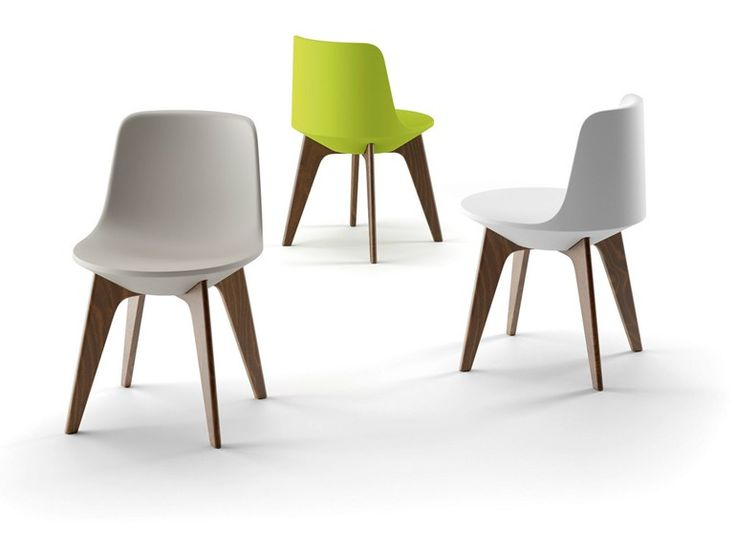 Sedia in polietilene PLANET CHAIR Collezione Planet by PLUST Collection by Euro 3 Plast | design Cédric Ragot
