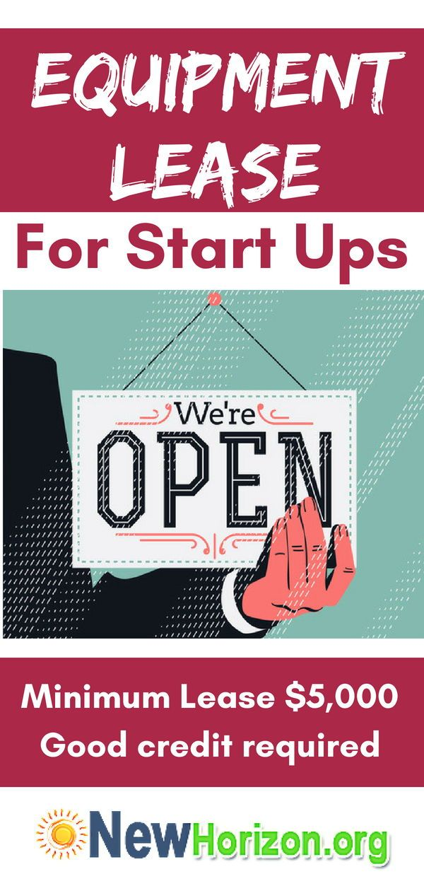 Equipment Leasing For Business Start Ups For All Types Of