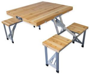 Folding Camping Table Set