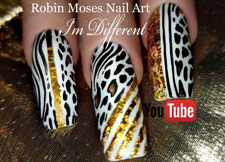 202 Best Nail Art Diva Swag Nails For Divas Images On Pinterest