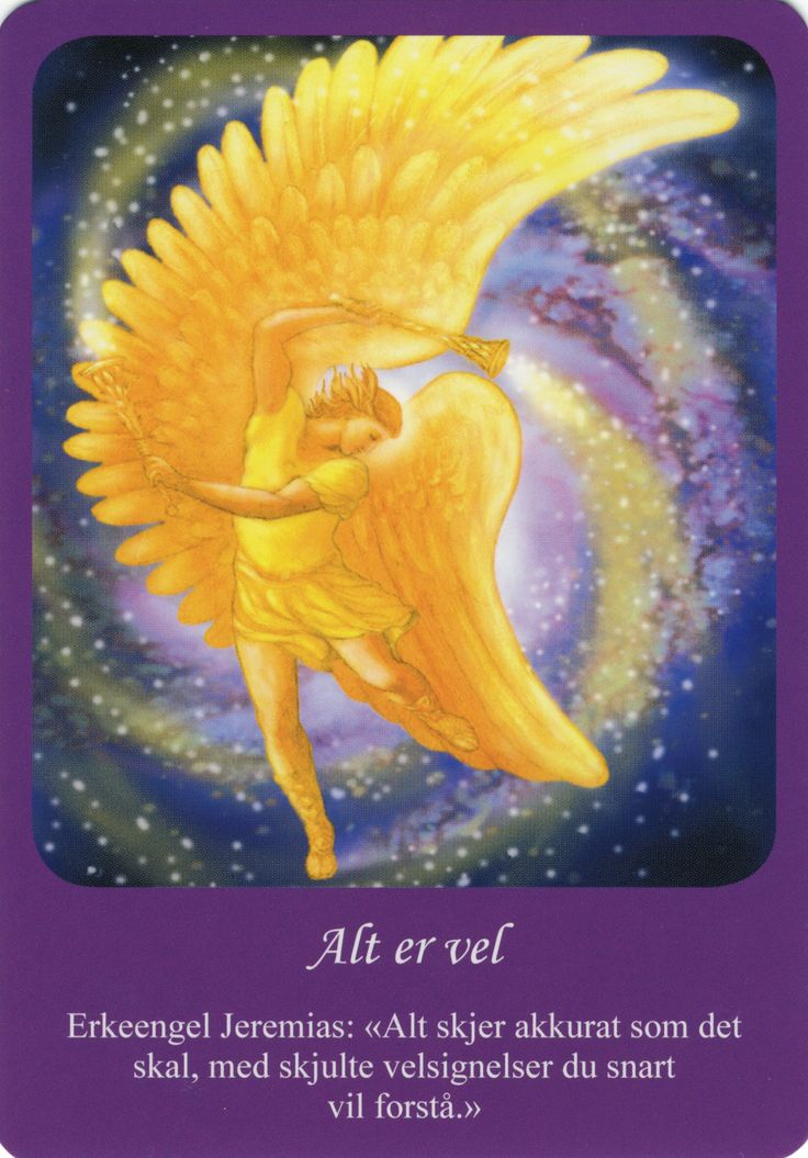 Angel card  http://www.angeltherapy.com/