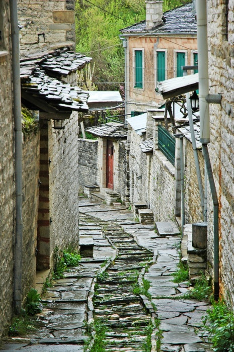 Dilofo Village in Zagoria, Epirus, Greece
