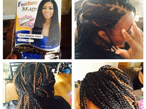 Crochet Box Braids Too Heavy : Crochet, Braids and Donna derrico on Pinterest