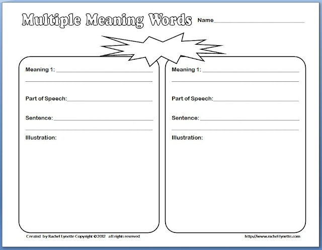 2nd grade context clues worksheets
