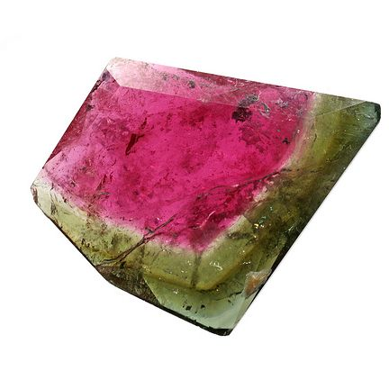 Watermelon Tourmaline is a rare variety that displays three different colors in the same crystal - It encourages a calm, centered state of mind.