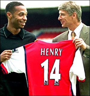 thierry henry, arsene Wenger! Two awesome people in one picture