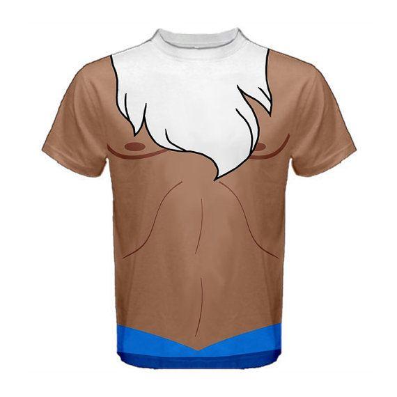 Men's King Triton The Little Mermaid Inspired Disneybound Shirt