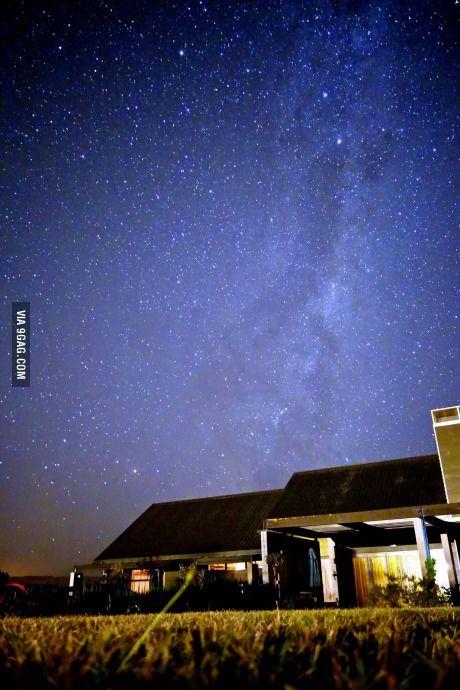 Milky Way in Palmerston North, New Zealand