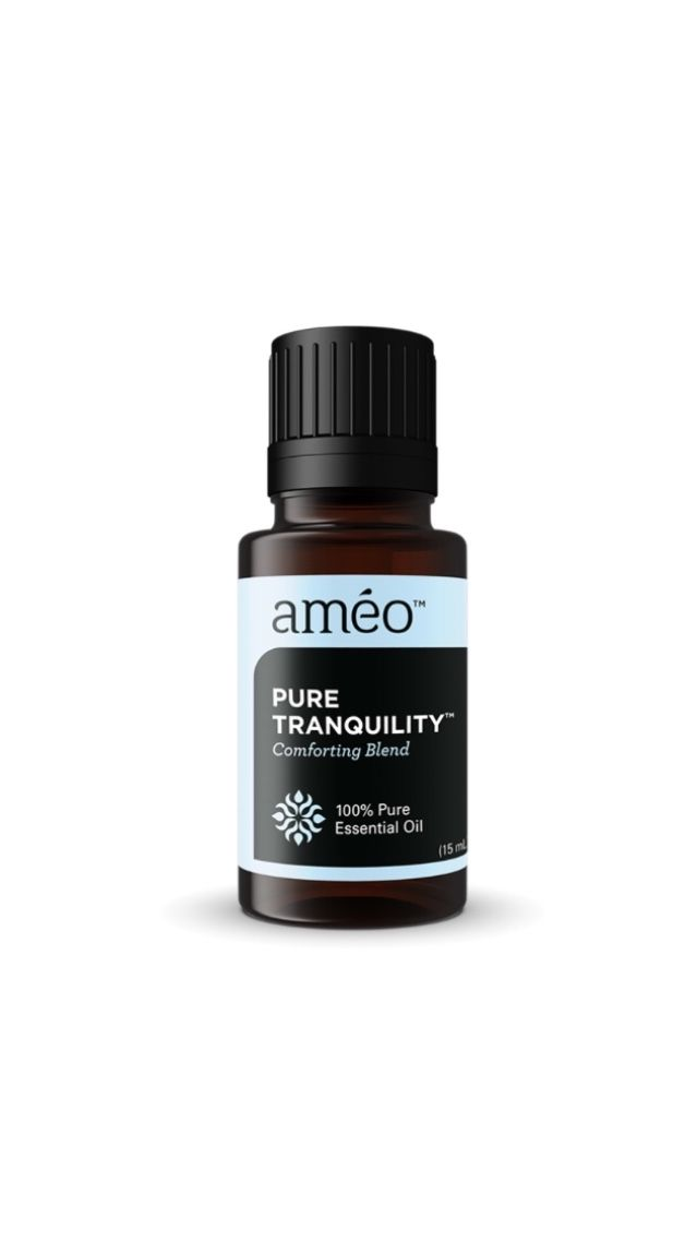Feeling tense, stressed or uneasy? Use this exclusive blend of Améo Essential Oils to help naturally promote a sense of harmony and improved well-being. Pure Tranquility can also be worn as a perfume to subtly uplift yourself as well as those around you throughout the day. | Independent Distributor | #essentialoils #ameoessentialoils #aromatherapy #bestessentialoilsfordiffuser