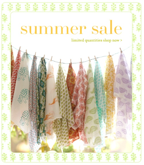 summer sale and Fabric by the yard online now!