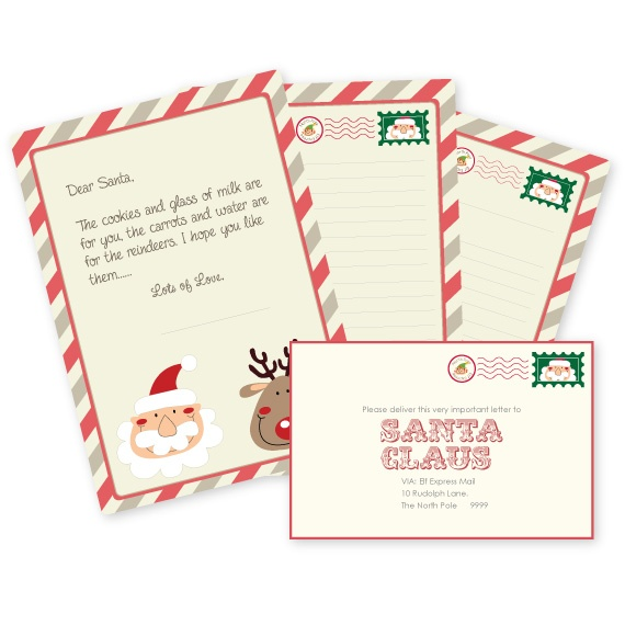 Kids printable Letter to Santa