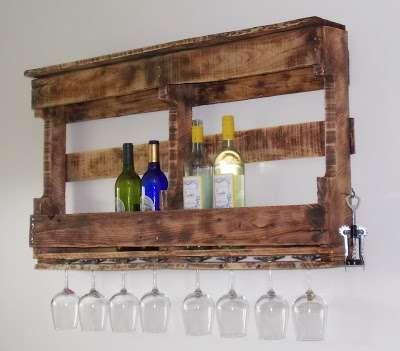 meuble bar palettes