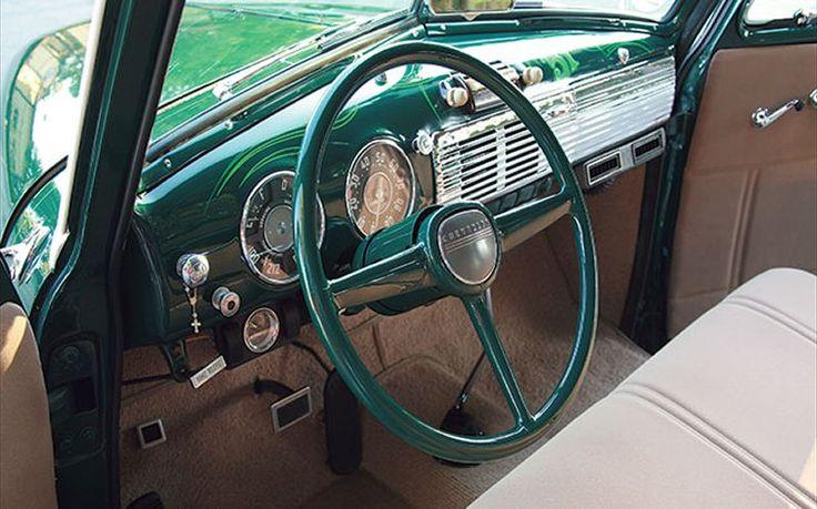 1951 chevy truck dash   1951 Chevy Truck Interior 1951 chevy interior dash