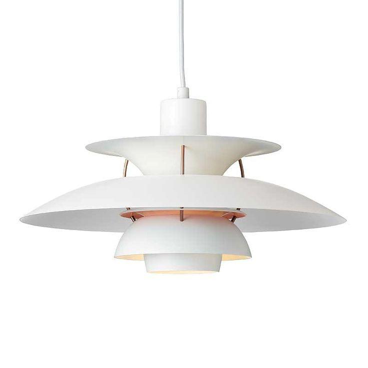 Bestil din nye PH 5 comtemporary hvide lampe her. Designet af Poul Henningsen for Louis Poulsen. Klik ind og bliv inspireret af de mange PH lamper.