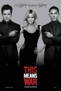 [capsule review] This Means War - fun combo of bromance, chick flick, and action movie, but the best friend was really annoying. Also, Witherspoon is older than her love-interest male co-stars! (Arclight, 2/24/12)