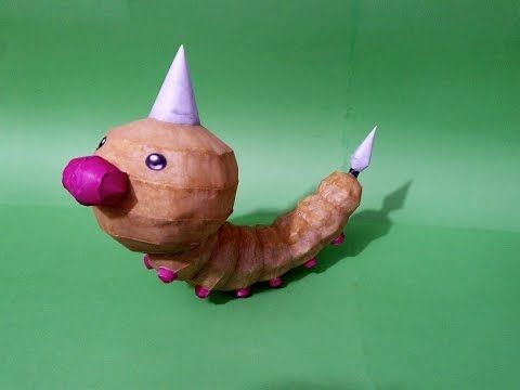 Pokemon WEEDLE - Papercraft #pokemon #papercraft