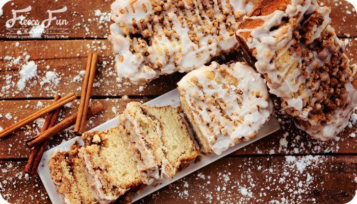 Cinnamon Streusel Mini-Loaves