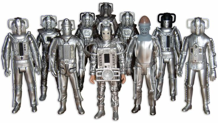 Evolution Of The Cybermen Cybermen collection | ...