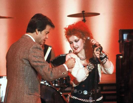 American Bandstand with Cindy Lauper.