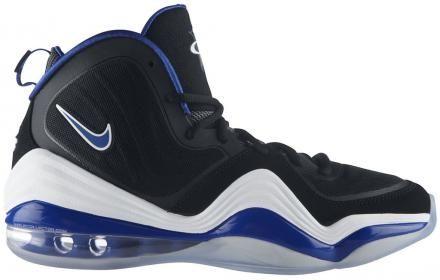 NIKE AIR PENNY V BLACK/GAME ROYAL-WHITE #sneaker