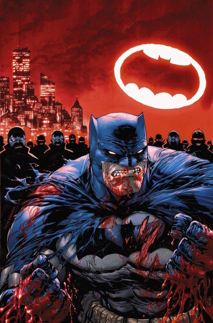 Dark Knight 3 Variant Cover by Tyler Kirkham & Tomeu Morey