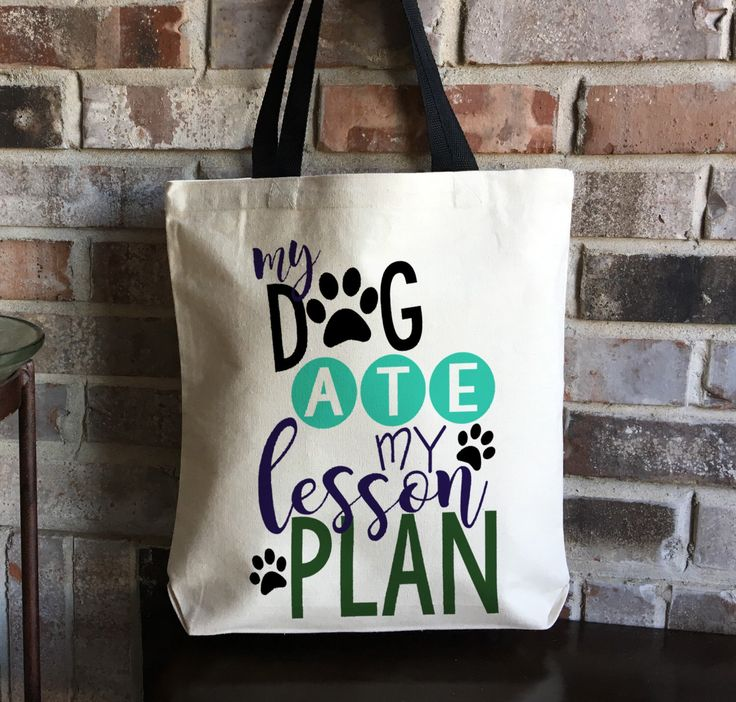 Teacher Gift - Teacher Bag - Teacher Tote - Dog Lover Gift - Large Book Bag - Teacher Appreciation - Lesson Plan Bag - Christmas Gift - Fun by CarryKindness on Etsy https://www.etsy.com/listing/479788480/teacher-gift-teacher-bag-teacher-tote