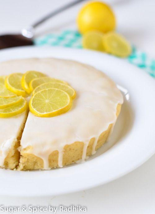 Eggless Lemon Drizzle Cake - easy to veganize if you make it with non-dairy milk/butter.