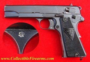 Polish Radom VIS Model 35 9mm Pistol (Grade III German Vis). Was used by German Paratroopers and Police during WWII.