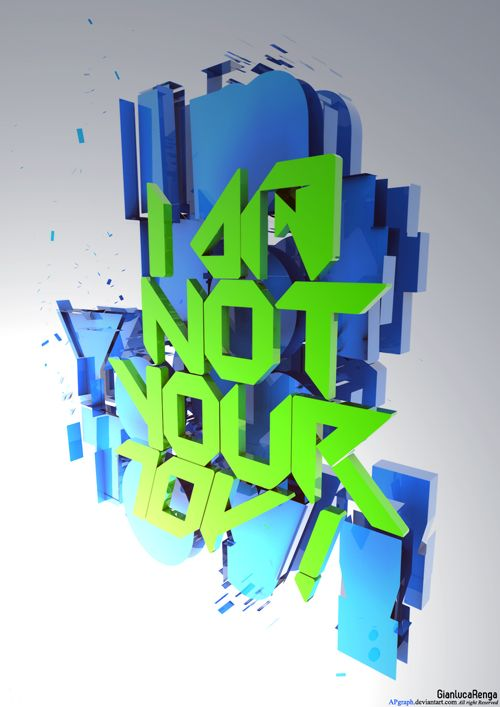 typography-design-41 - 3D Typography Design Modelling